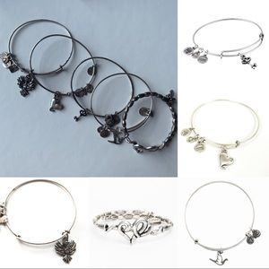 Alex and Ani | 5 Bracelets | Silver